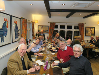 LODGE 'BURN'S' BACK INTO CLAYGATE