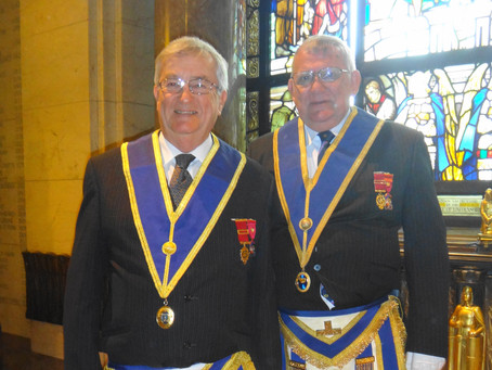 INSTALLATION OF NEW PROVINCIAL GRAND MASTER