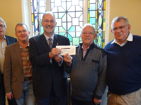 HEROES GET HELP FROM CLAYGATE LODGE