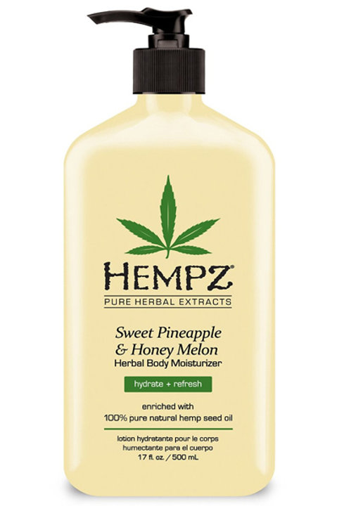Hempz Sweet Pineapple & Honey Melon Herbal Body Moisturizer - 17 oz.
