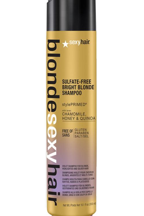 Matrix Blonde Sexy Hair Bright Blonde Sulfate-Free Violet Shampoo