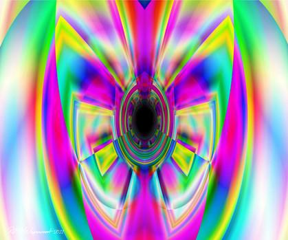 Robin Wagenvoort - Colour Vortex 7