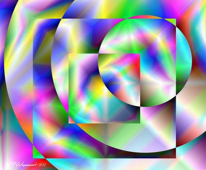Robin Wagenvoort - Colour Vortex 4