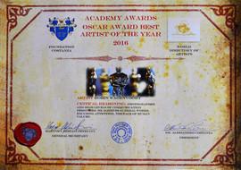 Certificate Academy Awards