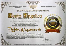 Certificate Beato Angelico