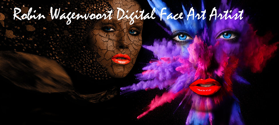 Banner Robin Wagenvoort Digital Face Art