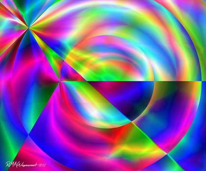 Robin Wagenvoort - Colour Vortex 6