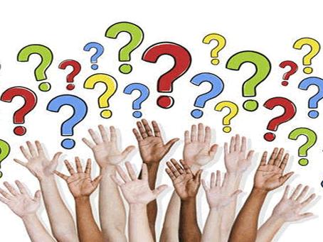 Perguntas mais frequentes dos alunos e futuros Alunos