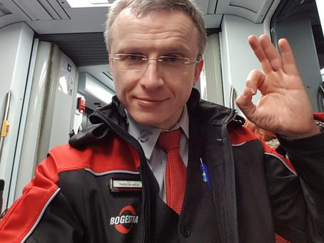 Heiko Nowicki ist Ansprechpartner für gehörlose Fahrgäste