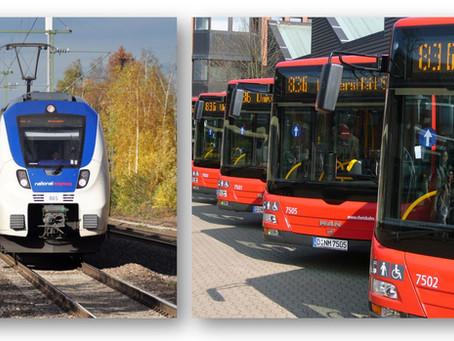 Wie geht es dem ÖPNV an Rhein und Ruhr?