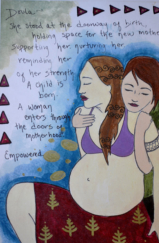 A doula partners with you across generations