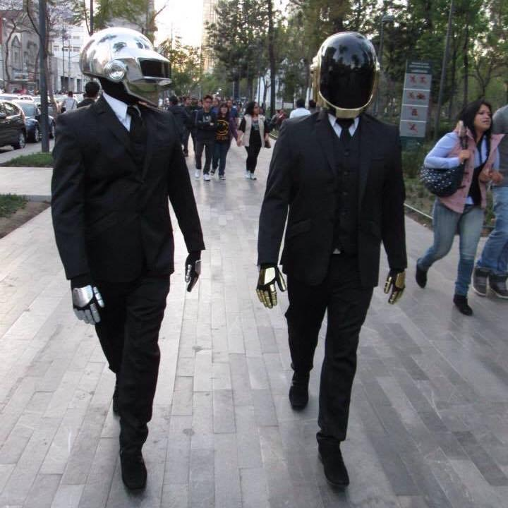 Show Performance Daft Punk