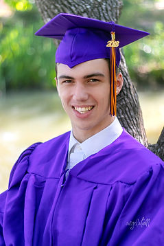Graduation Day Portraits in Montgomery