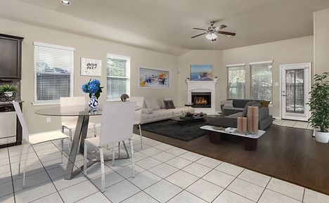 Virtual staging by Angela Hall Photograp