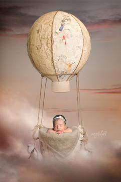 Fine-Art Newborn Studio Portraits