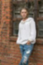 Senior Portraits Downtown Conroe