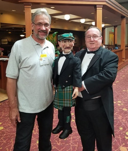 Ken Groves With Ronald And Harley