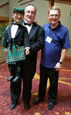 Mark Wade With Ronald And Harley