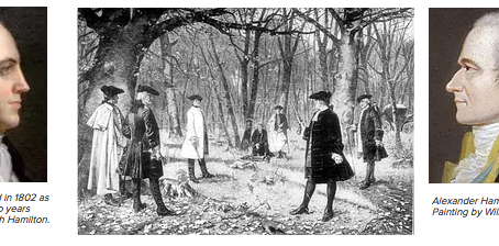A 214th Anniversary and Aaron Burr
