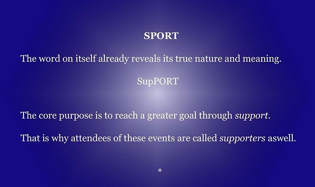 #sport #support
