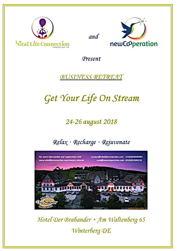 Business Retreat Vital Life Connection & newCooperation Winterberg