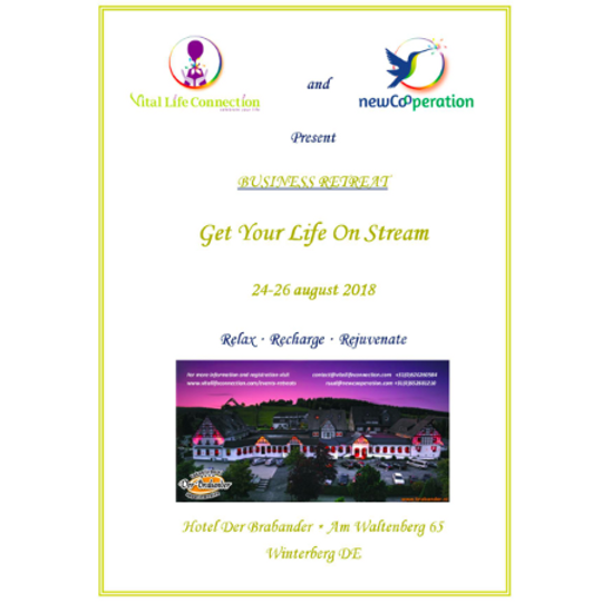 Get Your Life On Stream Business Retreat