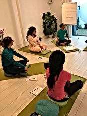 Adem- en ontspanning/ meditatie sessie, Breath and relaxation/ Meditation session Vital Life Connection