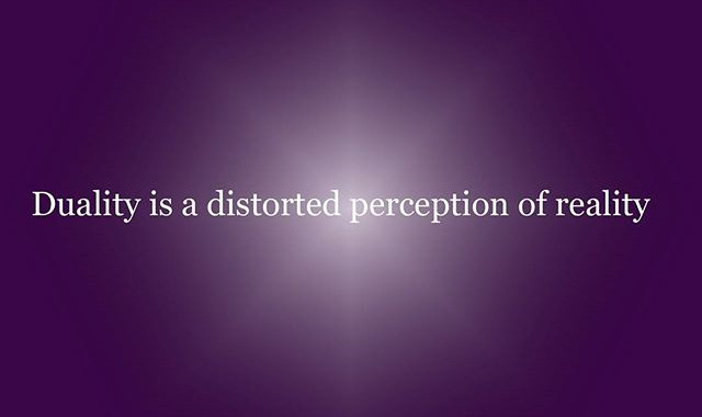 Duality is a distorted perception of reality__#duality #perception