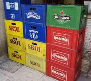 Engradados de Cerveja