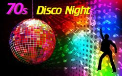 Painel Gigante 70s Disco Night
