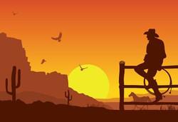 Cenário Cowboy Médio