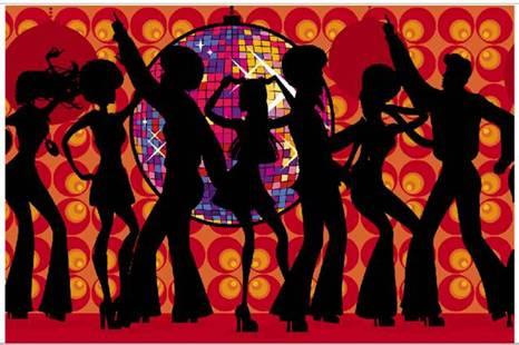 Painel Gigante Disco Dance