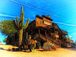 Cenário Old West Pequeno