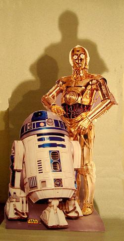Totem R2D2 e C3PO