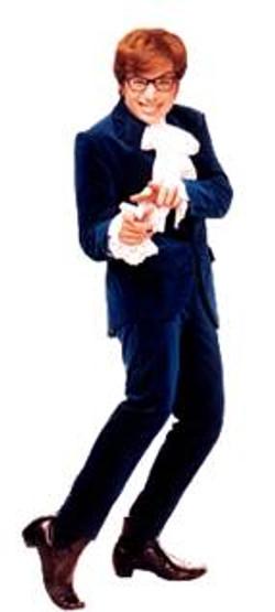 Toten Austin Powers