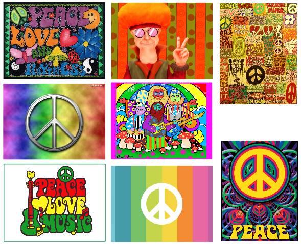 Kit de Painéis temáticos – Hippie