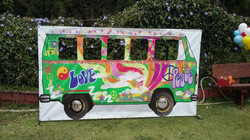 Painel para fotos – Kombi Hippie