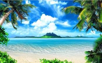 Cenário gigante Hawaii – Novo