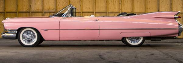 Painel Pink Cadilac