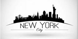 Placa New York em PS