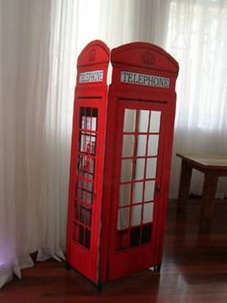 Painel fotográfico Telephone