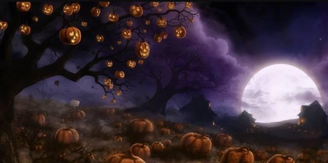 Cenário Halloween Grande