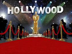 Cenário Oscar Hollywood