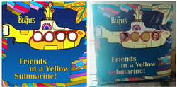 Cenário Fotográfico Yellow Submarine