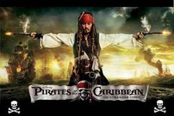 Cenário Gigante Pirates of Caribbean