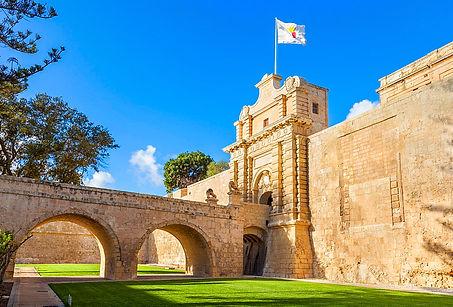 Las capitales de Malta - Valletta y Mdina