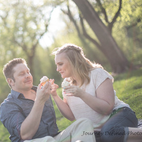 Engagement Photos: Downtown Sioux Falls, Cupcakes, and lots of love..Amy+Sean