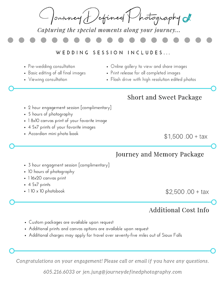 Wedding Pricing Guide_Bridal Show Price.