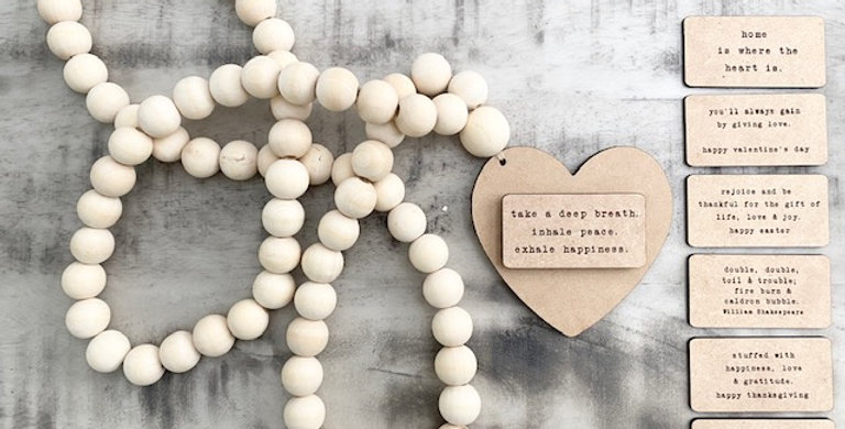 message beads