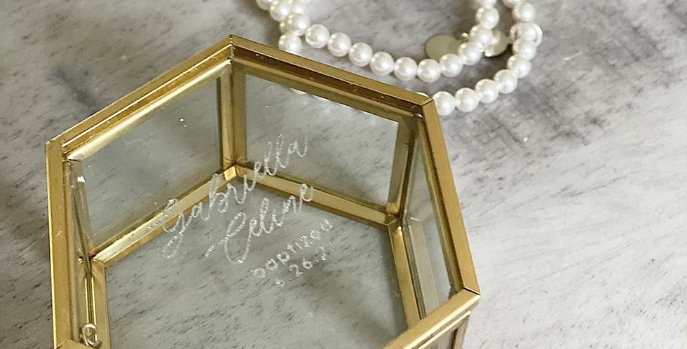 Jewelry box for special occasion